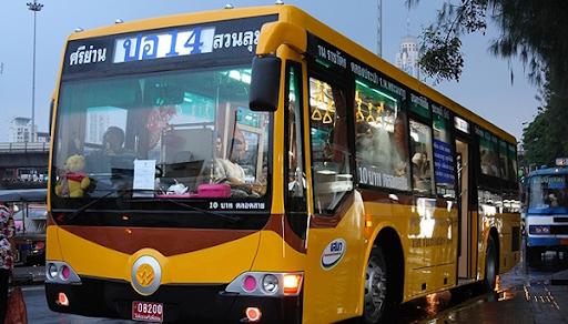 cách đi từ sân bay suvarnabhumi vào trung tâm bangkok