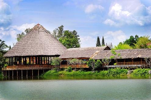 khu du lịch sinh thái văn hóa dân tộc thiểu số củ chi