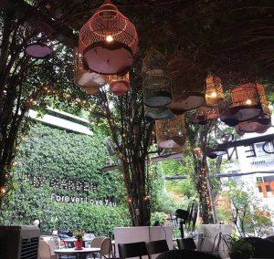 quán cafe sân vườn thiết kế đẹp